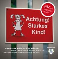 """Das Sicher-Stark-Elternhörbuch """"Achtung! Starkes Kind!"""" ist im Shop bestellbar"""