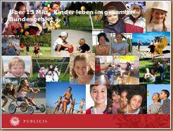 Über 13 Millionen Kinder leben im gesamten Bundesgebiet